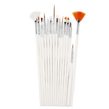 15PC/Set Nail Art Design Painting Dotting Detailing Pen Brushes Bundle Tool Kit