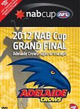 AFL - 2012 NAB Cup Adelaide Crows Grand Final (DVD, 2012) NEW Region 4 Sealed