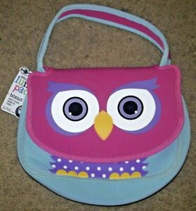 🥘🍕 Arctic Zone OWL Insulated Lunch Box Pack Neoprene New Nwt w/ Washable Liner
