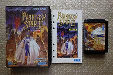 "Phantasy Star II 2 ""Good Condition"" Sega Megadrive Japan"