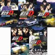 Initial D Stage 5 & 6 + New Movie Legend: Awakening + Racer + Mugen Anime DVD