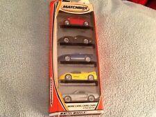 Matchbox 5 Pack Gift Set MORE CARS, CARS, CARS