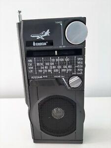 *STEEPLETONE SAB9 PORTABLE AIRBAND RADIO WORKING VINTAGE-EXC COND*