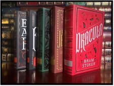 Horror Leather Bound 5 Volume Set New Edgar Poe Dracula Frankenstein Jekyll Hyde