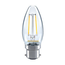 SYLVANIA 2.5 W del traditionnel Bougie Ampoule B22 BC blanc chaud 2700K