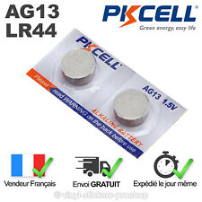2 PILES LR44 / AG13 / A76 / 1,5V / ENVOI RAPIDE