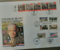USPS FDI June 6, 1994 'Operation Overloard' collection of 25 items