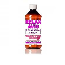Berry Pink 16 ounce Relaxavis Nutritional Relaxation Syrup