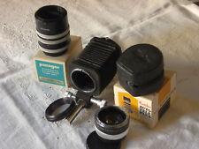 Canon FD bellows M + extension tubes + teleconverter 2X + inversion ring