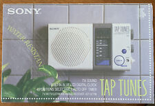 Sony TapTunes Shower Radio