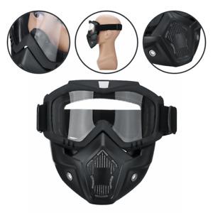 Motorcycle Goggles Motocross Face Mask Quad Bike Bicycle Riding Safety Eyewear