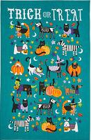 "Ulster Weavers ""Trick or Treat"" Halloween 100% Cotton Tea Towel Post W/wide"