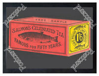 Historic Salmons Tea, 1890s. Advertising Postcard 2