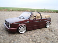 1:18 VW Golf 1 Cabrio Tiefer Tuning mit 16 Zoll VW Echt Alu Felgen