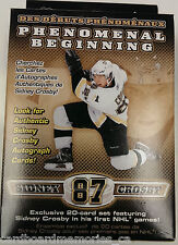 Sidney Crosby Phenomenal Beginning 20 Card Box Set Factory Sealed