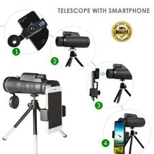 40X60 Zoom Optical Hd Monocular-Telescope+Tripo d+Clip 4 Hunting & Sports Events
