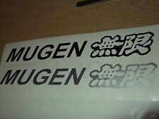 Mugen stickers pour honda civic/crx x 2