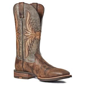 Ariat Men's Crosswire Worn Graphite Square Toe Boots 10035918