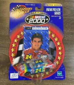 JEFF GORDON 2000 DUPONT #24 1/64 WINNERS CIRCLE DIECAST CAR + TRADING CARD