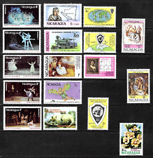 Nicaragua  .......  Mint Stamps  ...........  2642