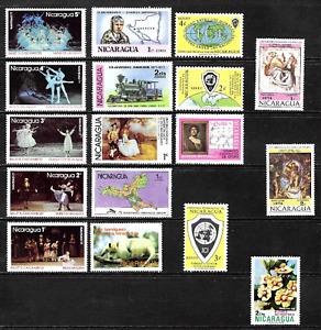 Nicaragua  .......  Mint Stamps  ...........  2642