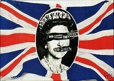 THE SEX PISTOLS Flyer / Handbill - 'God Save The Queen' 45 Single - reprint