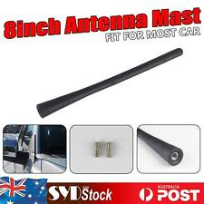 20cm Replacement Car Ute Exterior Stubby Antenna AM/FM Signal Mast Booster Black