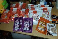 (10) Bags iWon Organics Protein Puffs/Chips Tapatio 1.5 Oz 3 Enlighten Mixed Lot