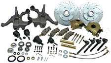 "1963-70 CHEVY & GMC C10 TRUCK DELUXE DISC BRAKE CONVERSION KIT, 6 LUG 2.5"" DROP"