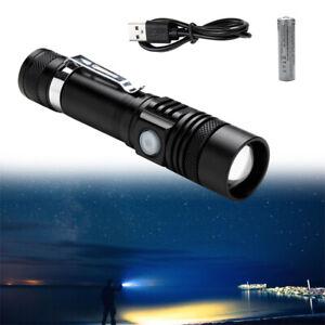 Taschenlampe LED Arbeitslicht 80000LM Camping Handlampe Flashlight Swat 18650