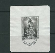 LUXEMBOURG 1945 OUR LADY of luxembourg souvenir sheet (Sc B126) VF USED L2