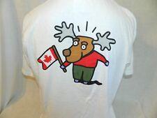 Ebay.ca T Shirt Adult XL Moose Logo White Official Ebay Canada