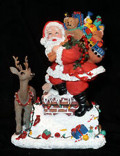 THE INTERNATIONAL SANTA CLAUS COLLECTION SC70 CHRISTMAS EVE SANTA OF USA