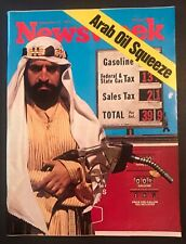 Newsweek - September 17, 1973 Arab Oil Squeeze ~ No Label ~ Newsstand Copy