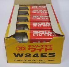 "ND Denso W24ES Spark Plugs 10 pc, Non-Resistor 14mm x 3/4"", same as B8ES,N3,N3C"