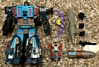 Transformers Earthrise Leader Doubledealer with Micromasters Knok and Skar
