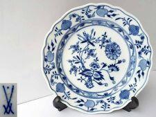 Età Meissen Porcellana piatti, Zwiebelmuster Indo BLU g547