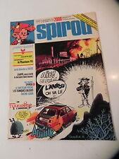 SPIROU LE JOURNAL DE SPIROU 2006 couv FOURNIER poster SOPHIE / PHANTOM F6 1976