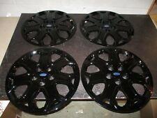 "Set of 4 New 2012 2013 2014 Focus 16"" Hubcaps Wheel Covers Black 7059"
