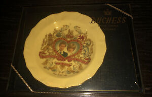 Duchess bone china royal wedding plate Prince Charles And Lady Diana Spencer.