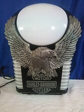 Harley Davidson Alarm Clock Radio Light