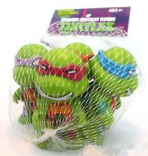 4x Teenage Mutant Ninja Turtles Donateelo Leo Raphael Micky Figures Kid Toy Set