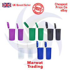 More details for pop top stash containers 13 dram 19 dram smell proof tub child proof squeeze pot