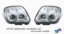 C5 Corvette 97-04 Euro Style Le Mans Projector Non Pop Up Headlights, Chrome PR