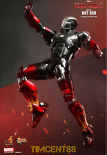 Ready! Hot Toys Sideshow Iron Man 3 Mark 22 XXII Hot Rod Exclusive 1/6 Diecast