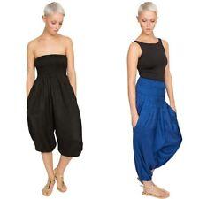 Pantalons sarouels taille unique pour femme