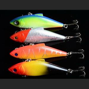 4PCS VIB Fishing Lure Fishing 11.2g Wobbler Crankbait Artificial Hard Swimbait