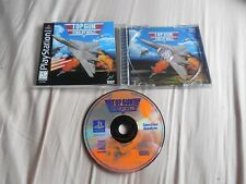 Top Gun: Fire At Will PlayStation 1 Game Complete Fun PS1 Games