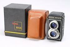 KODAK REFLEX TLR MEDIUM FORMAT 620 TWIN LENS CAMERA, BOXED, W/ CASE -- DISPLAY