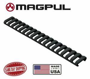 Magpul Ladder Rail Panel Cover Picatinny Rail 18 Slots Black Made in USA Black